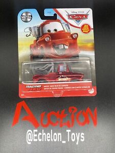 🔥RARE ! DISNEY PIXAR CARS - RACING RED MATER - METAL 2021