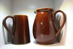 Denby Stoneware 2.5 Litre Water Jug and Milk Jug