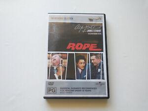 ROPE DVD 1948 JAMES STEWART ALFRED HITCHCOCK GENUINE REGION 4