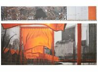 Christo The Gates XIX Poster Kunstdruck Bild 72x102cm