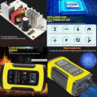 12V 6A Cargador batería de coche inteligente automático completo Plomo ácido/GEL
