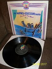 JAMES COTTON Live And On The Move (Vol 2) 1982 Buddha LP BRP 2029 EXC- Italian