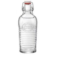 Bottiglia Officina Bormioli capacita' 120 cl  con tappo a pressione meccanica