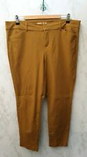 Old Navy Trousers Size 14 Mustard Yellow Cotton Blend