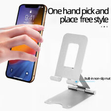 Foldable Universal Cell Phone Tablet Desk Stand Holder Mount Cradle Adjustable