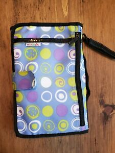 Munchkin Blue/White/Green GoPad Travel Diaper Changer Changing Pad