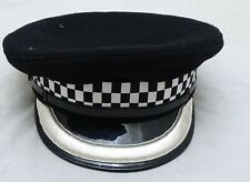 More details for genuine chief superintendent silver banded flat peaked cap collectors grade b