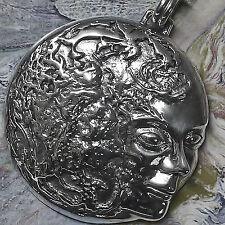 große Erdenmutter Gaia Amulett 925 Silber v. Peter Stone Anhänger Schutzamulett