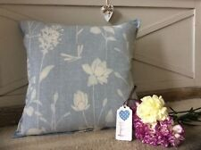 Handmade cushion cover Laura Ashley 'Dragonfly Garden' design vintage style