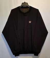 Roche Reversible Golf All Weather Pullover Shirt Wind Breaker 100% Nylon Size L