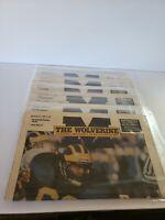 1989 The Wolverine Newspaper University of Michigan Lot Of 6