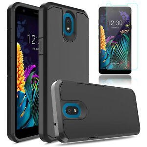 For LG Journey LTE (L322DL) Phone Shockproof Hybrid Case Cover/Screen Protector