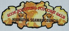 Hiawatha Seaway Council (NY) SA-80 2006 Popcorn Sale Staff CSP  BSA
