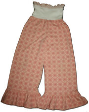 New PERSNICKETY Size 8  MEADOW DANCE Peach Pink Ruffle BELL Pants