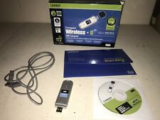 Linksys Compact Wireless - G USB Adapter WUSB54GC