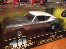 Ertl 1/18 1968 Chevy Chevelle SS396 CHASE CAR ITEM 36382