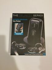 The Black Series: Portable Wireless Electronic 45 ft Key-Item Finder with 2 Fobs