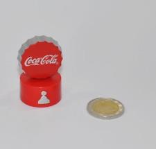 Coca-Cola COPPA TAPPO BOTTIGLIA SCACCHI PERSONAGGIO CONTADINO COKE BASE ROSSO