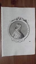1775 Effigie/Ritratto di Papa San Eugenio I Roma Pontefice (Incisione Originale)