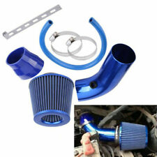 "Car Truck Racing 3"" INCH Cold Air INTAKE FILTER+ Clamp+  Accessories Blue Kit"