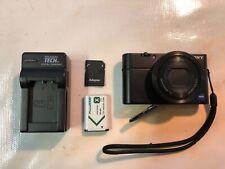Sony DSC-RX100 Original 20.2MP Digital Camera w/ battery, SD Card & Charger