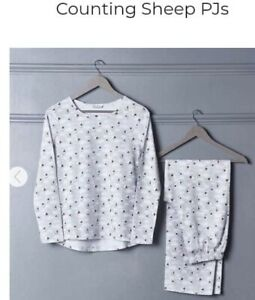 AVON Counting Sheep/Clouds Pjs Size 12-14 Medium. Brand New. Christmas Gift.