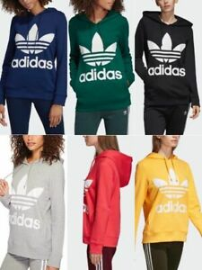 Adidas Originals Women's Trefoil Fleece Hoodie (AWH)