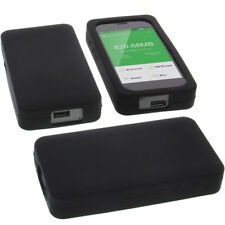 Tasche für GlocalMe G3 Routertasche Schutz Hülle Silikon Silicon Schwarz