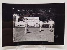 Babe Ruth Candid Golf Photograph 4x6 Rare