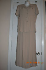 k studio size 10 brown dress with matching cover