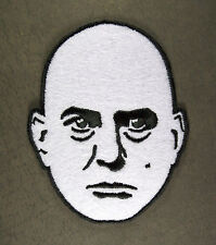 "Embroidered Aleister Crowley Head Patch - Sew or Iron On 3.25"" Beast 666 Thelema"