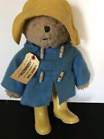 """1975 Vintage Paddington Bear Darkest Peru To London England 11"""" Plush Eden Toys"""
