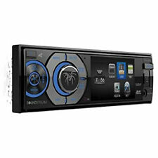 Soundstream VR-345B 1-DIN DVD, CD/MP3 Car Stereo w/Bluetooth 4.0, Detachable LCD