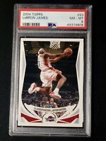 2004 Topps #23 LeBron James Lakers PSA 8 NM-MT - 2nd Year Card!!