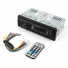 New Bluetooth Car Stereo Audio 1 DIN In-Dash FM Input Receiver USB MP3 Radio ELA