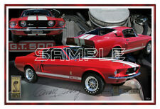 1967 67 Mustang Shelby GT500 Poster Print