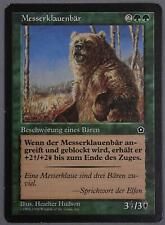 Magic: the Gathering Portal Second Age Razorclaw Bear German Messerklauenbär MP