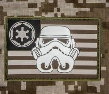 STAR WARS 3D PVC FLAG US USA ARMY MILITARY CAMO HOOK PATCH