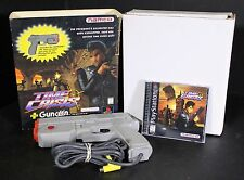PS1 Time Crisis Complete with GunCon Controller Sony PlayStation 1 1997 Free S&H
