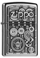 ZIPPO Feuerzeug GEAR WHEELS m. Emblem Zahnrad 3D Zahnräder NEU OVP Sammlerstück!