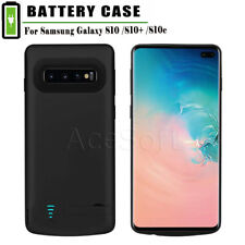 Battery Charger Case fit Samsung Galaxy S10 Plus S10 S10e Backup Power Bank Case