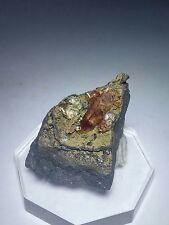 ***RARE GEM-Fluorescent Fluorite & Pink Rhodochrosite crystals, mine Mexico***