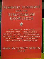 Feminist Thought and the Structure of Knowledge by Gergen, Mary M.