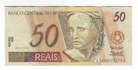 50 Reais Brasilien 1999 C317 / P.246j -  Brazil Banknote