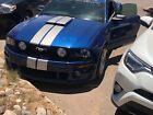2006 Ford Mustang GT 2006 Ford Mustang Coupe Blue RWD Manual GT