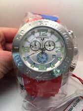 swiss legend sl -10067-02s Men's Commander RED Chronograph Luminous Watch-R5