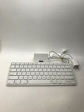 Apple - iPad Keyboard Dock - Model A1359 With Charger - Tested- Works Good !!!