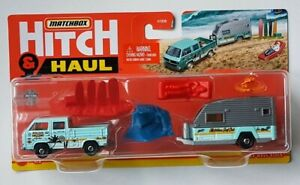 MATCHBOX HITCH AND HAUL VW Volkswagen T3 Transporter Cab - With Caravan  2021