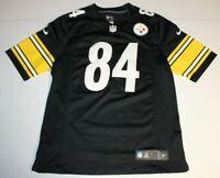 NFL Football Pittsburgh Steelers Antonio Brown #84 Jersey Medium Nike Black