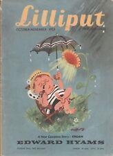 Collectable  Lilliput Magazine  Oct - Nov 1953   Vol 33  No 4  Issue No 196